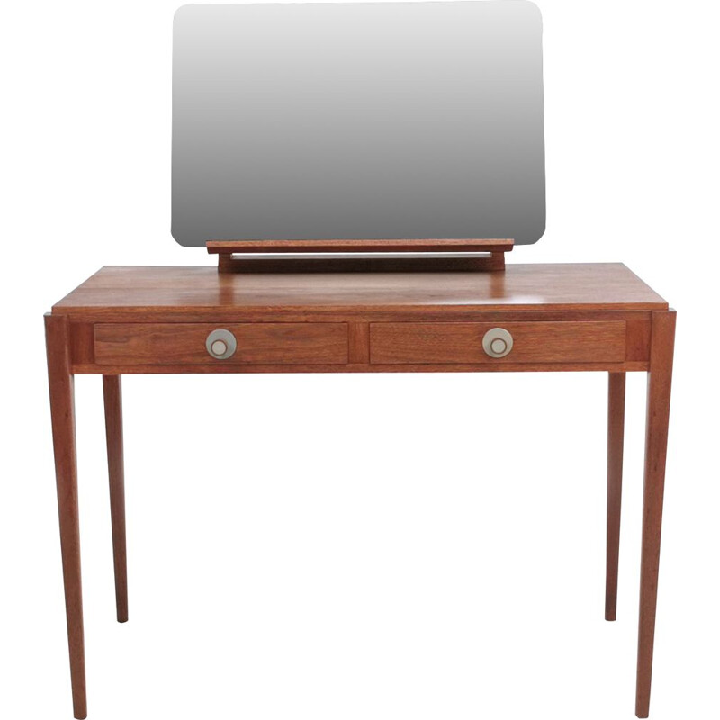 Vintage Gordon Russell Walnut Dressing Table 1950s