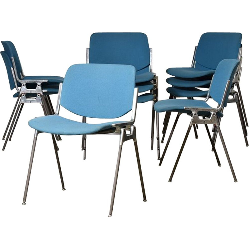 Vintage Chairs By Giancarlo Piretti For Castelli Italy 1955s