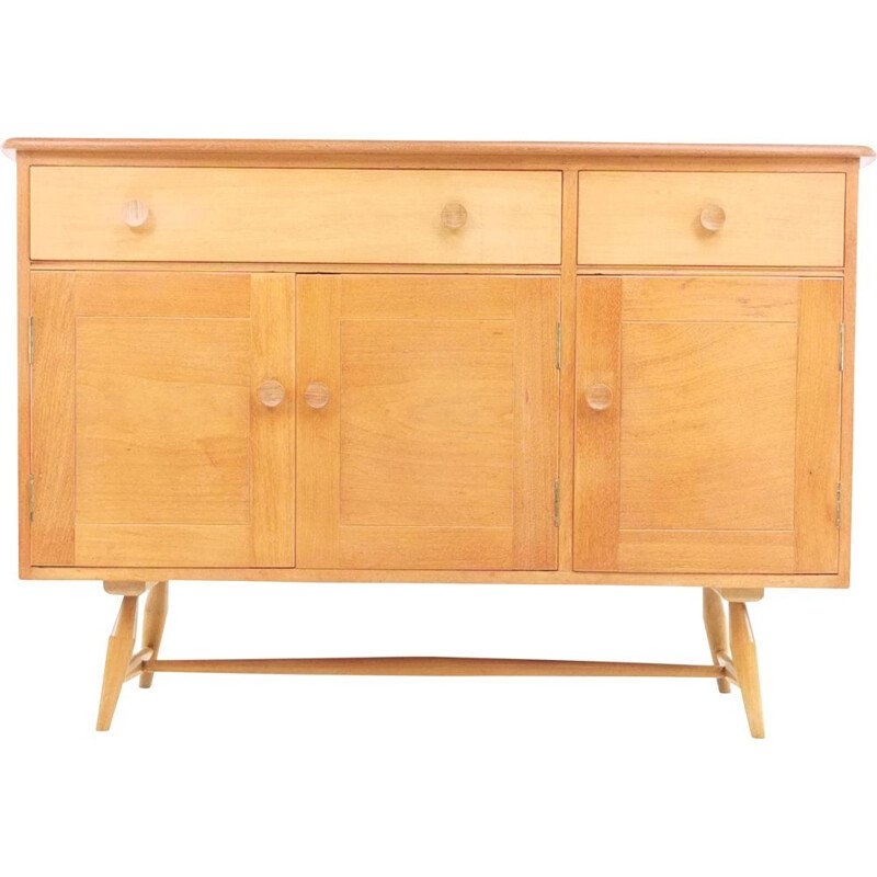 Mid Century Ercol Blonde Sideboard In Beech And Elm 1950s