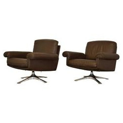Pair of De Sede DS 31 lounge armchairs - 1970s