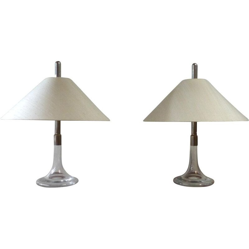 Pair of vintage lamps Ingo Maurer 1960