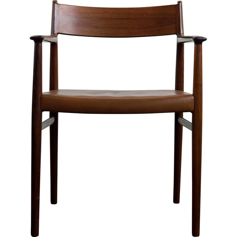 Vintage rosewood chair by Arne Vodder, Denmark 1960