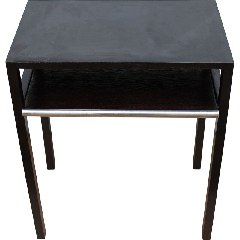 Vintage side table by Jindrich Halabala for UP Brno 1930