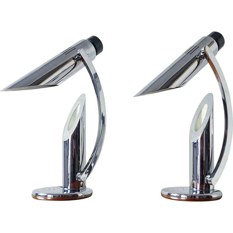 Pair of vintage Tharsis Table Lamp 1973s