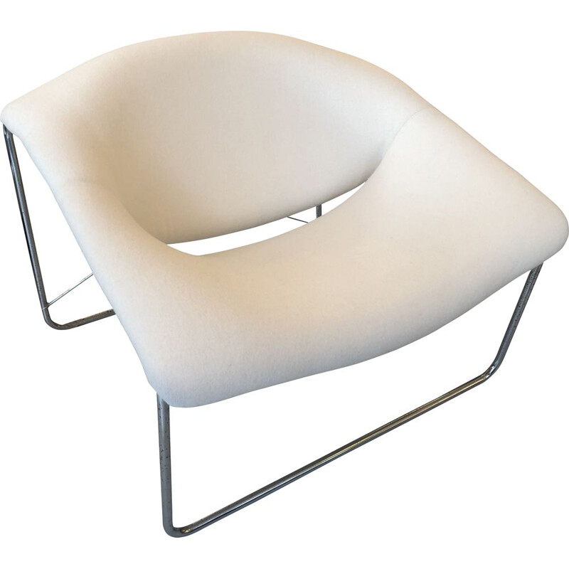 Vintage Olivier Mourgue Ed Airborne Cubic Fireside chair 1968s