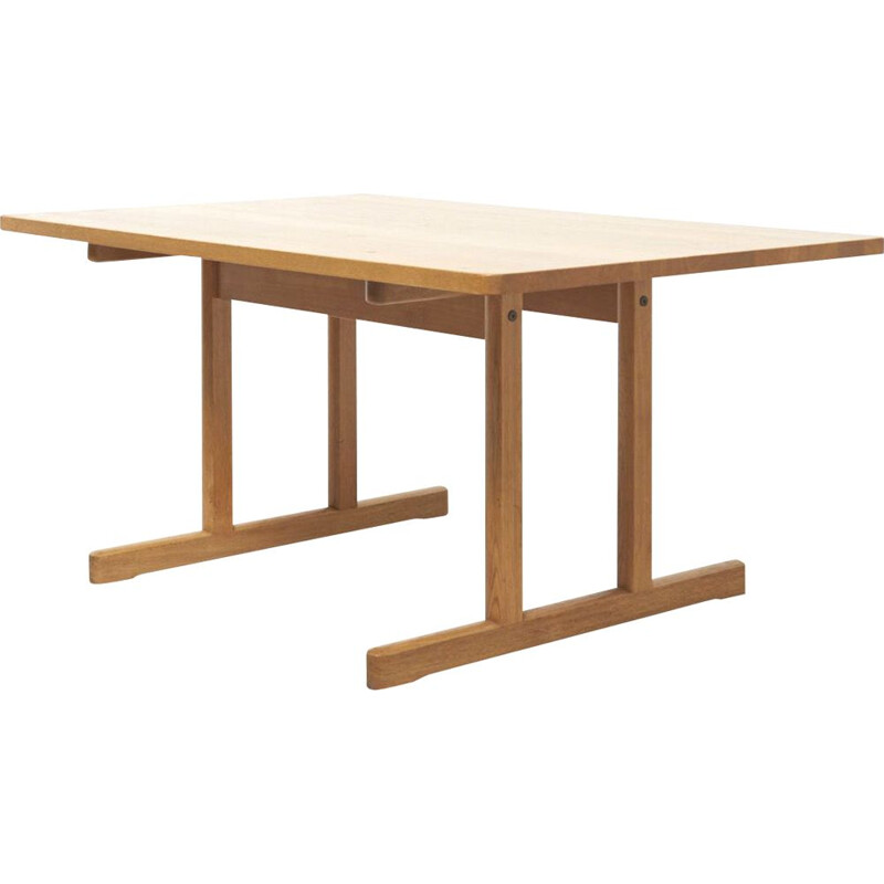 Vintage Dining Table by Borge Mogensen Denmark 1950s