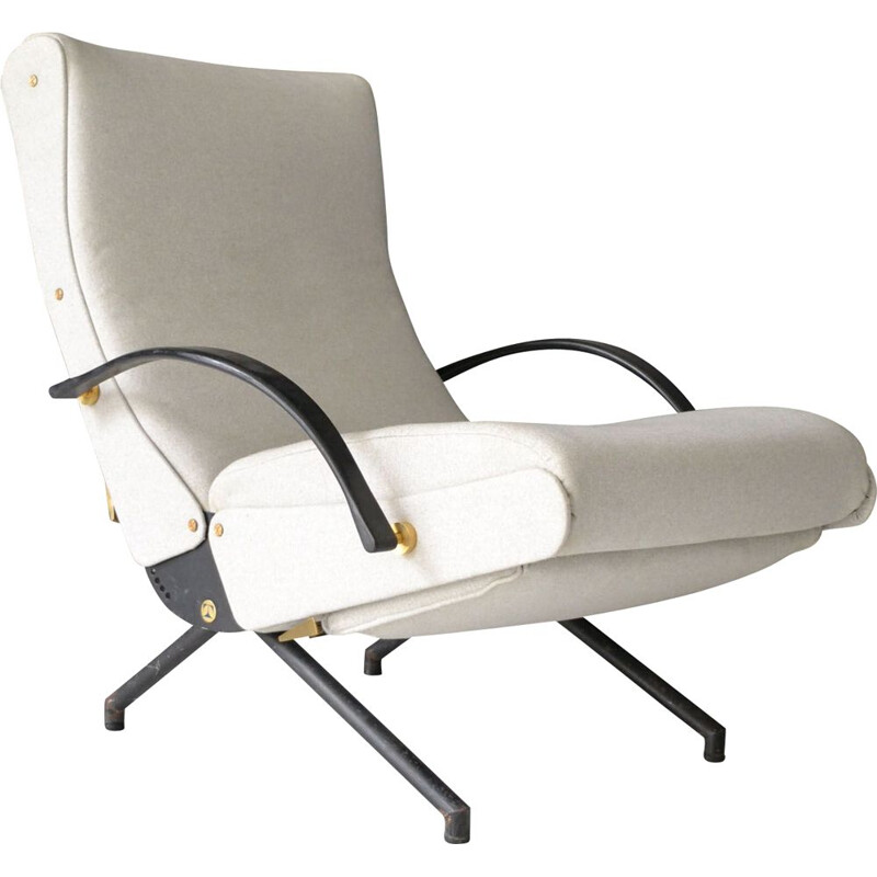 Vintage armchair P40 by Osvaldo Borsani for Tecno 1954