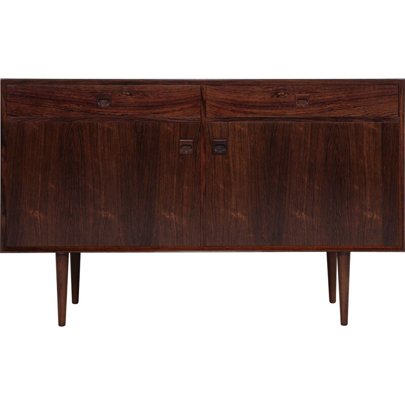 Midcentury cupboard with 2 doors and 2 drawers in rosewood by Brouer Danish 1960s