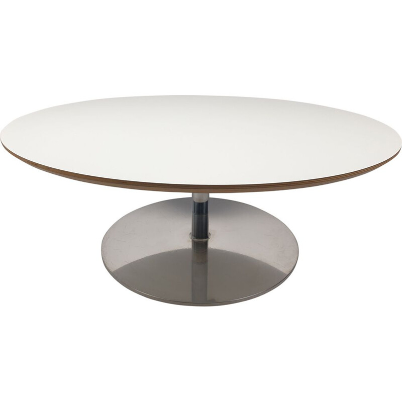 Vintage Round Coffee Table by Pierre Paulin for Artifort 1960s