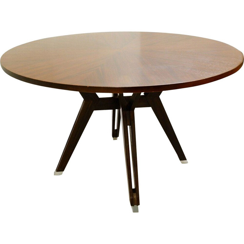 Vintage Round Table by Ico Parisi for M.I.M. Roma Italy 1958