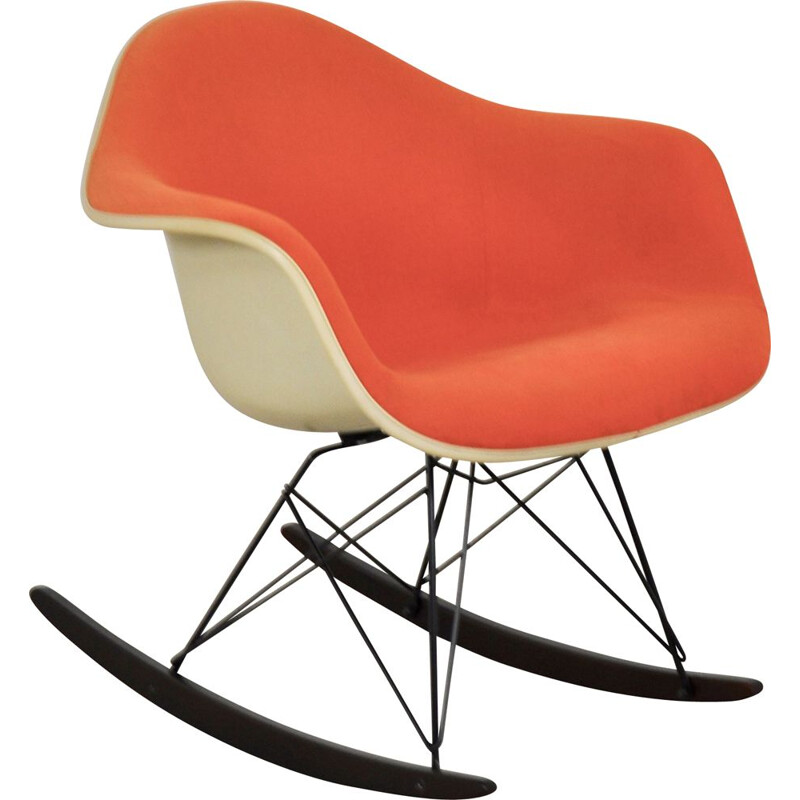 Vintage Rocking Chair RAR by Charles & Ray Eames For Herman Miller 1960s