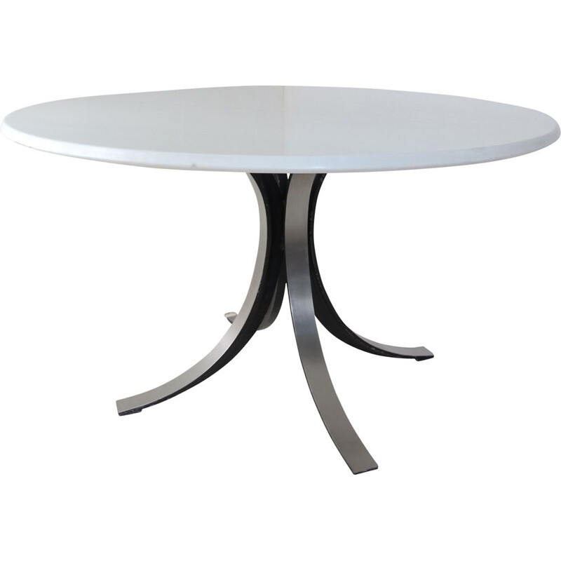 Vintage Space Age Marble Dining Table by Osvaldo Borsani for Tecno Italian 1960s