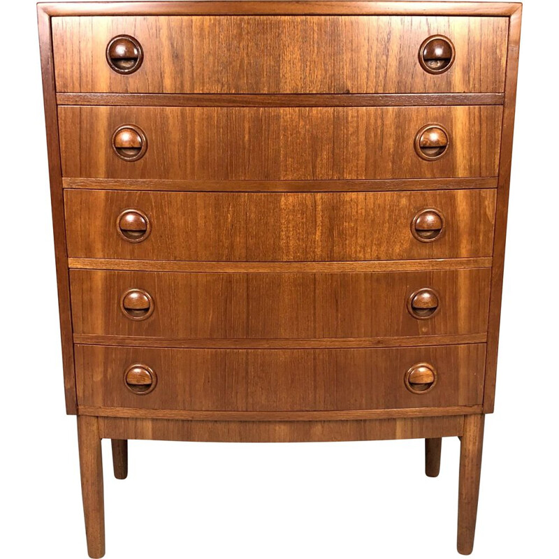 Mid-century Chest of Drawers by Kai Kristiansen Denmark 1960s