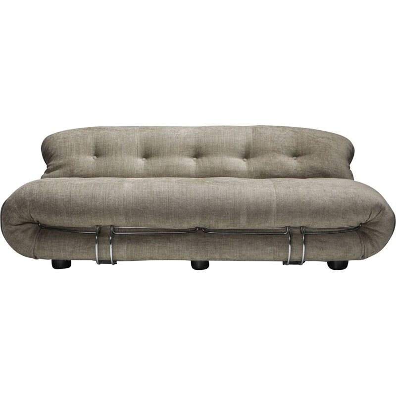 Vintage Soriana 2-Seat Sofa by Afra e Tobia Scarpa for Cassina 1970s
