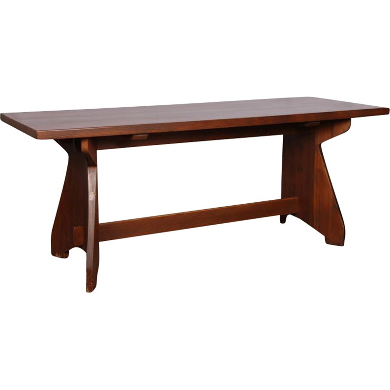 Vintage dining table by Jacob Kielland-Brandt for Christiansen 1960
