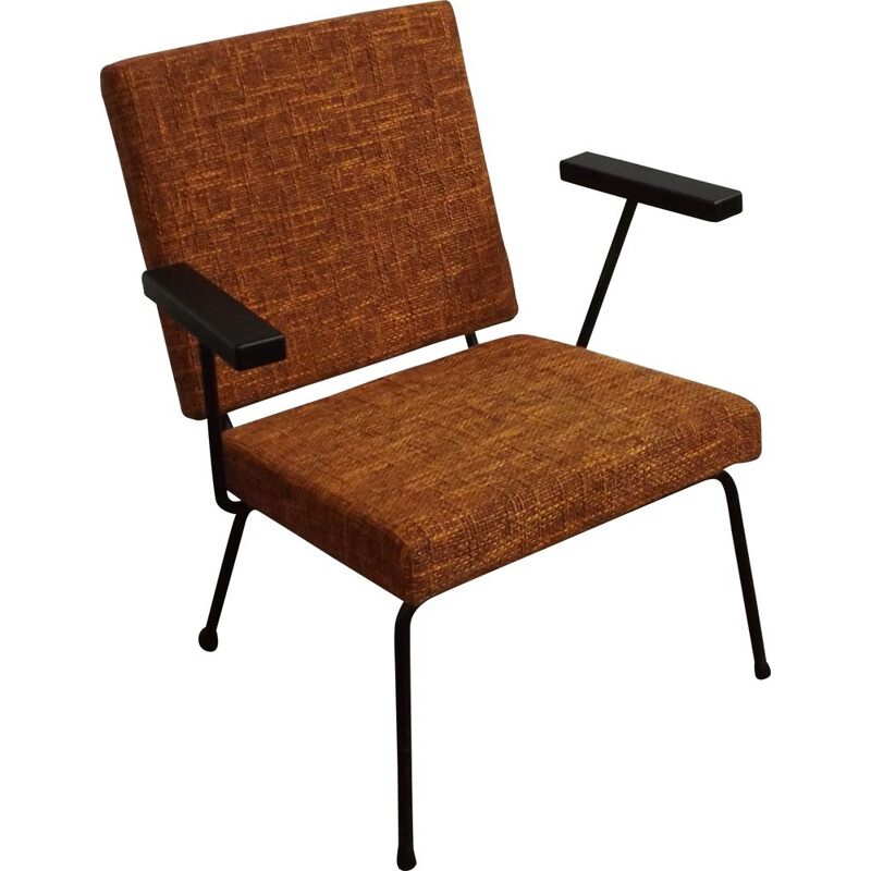 Vintage chair 1407 by Wim Rietveld for Gispen 1955