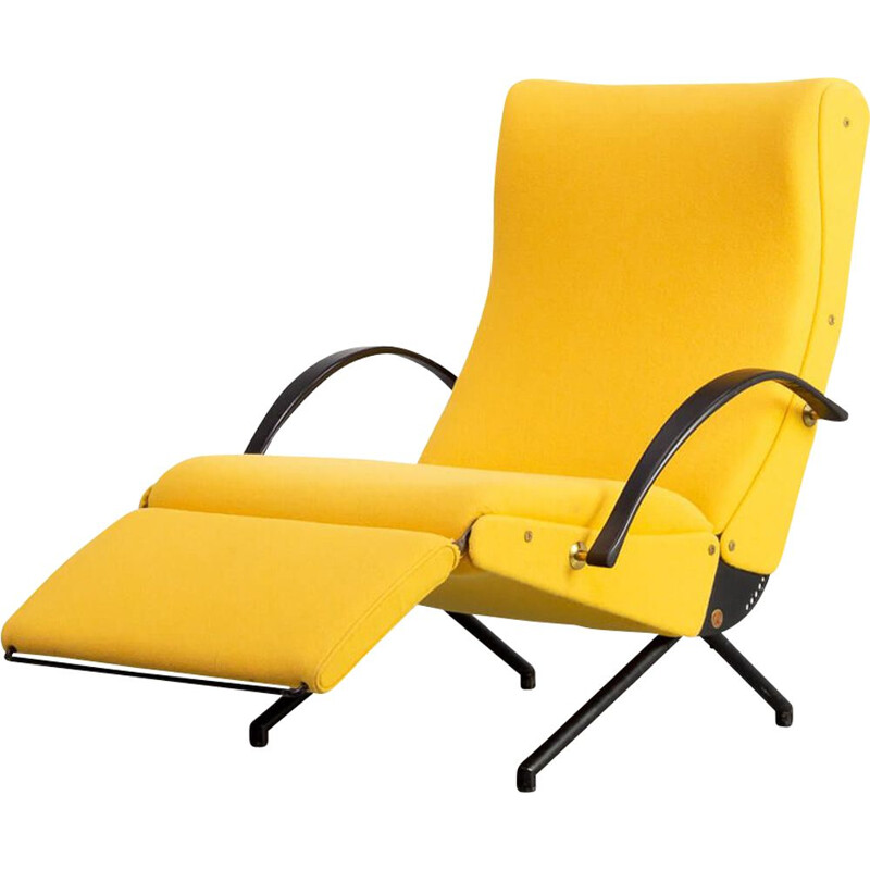 Vintage 'P40' louge chair for Tecno  1st edition Osvaldo Borsani 1950s