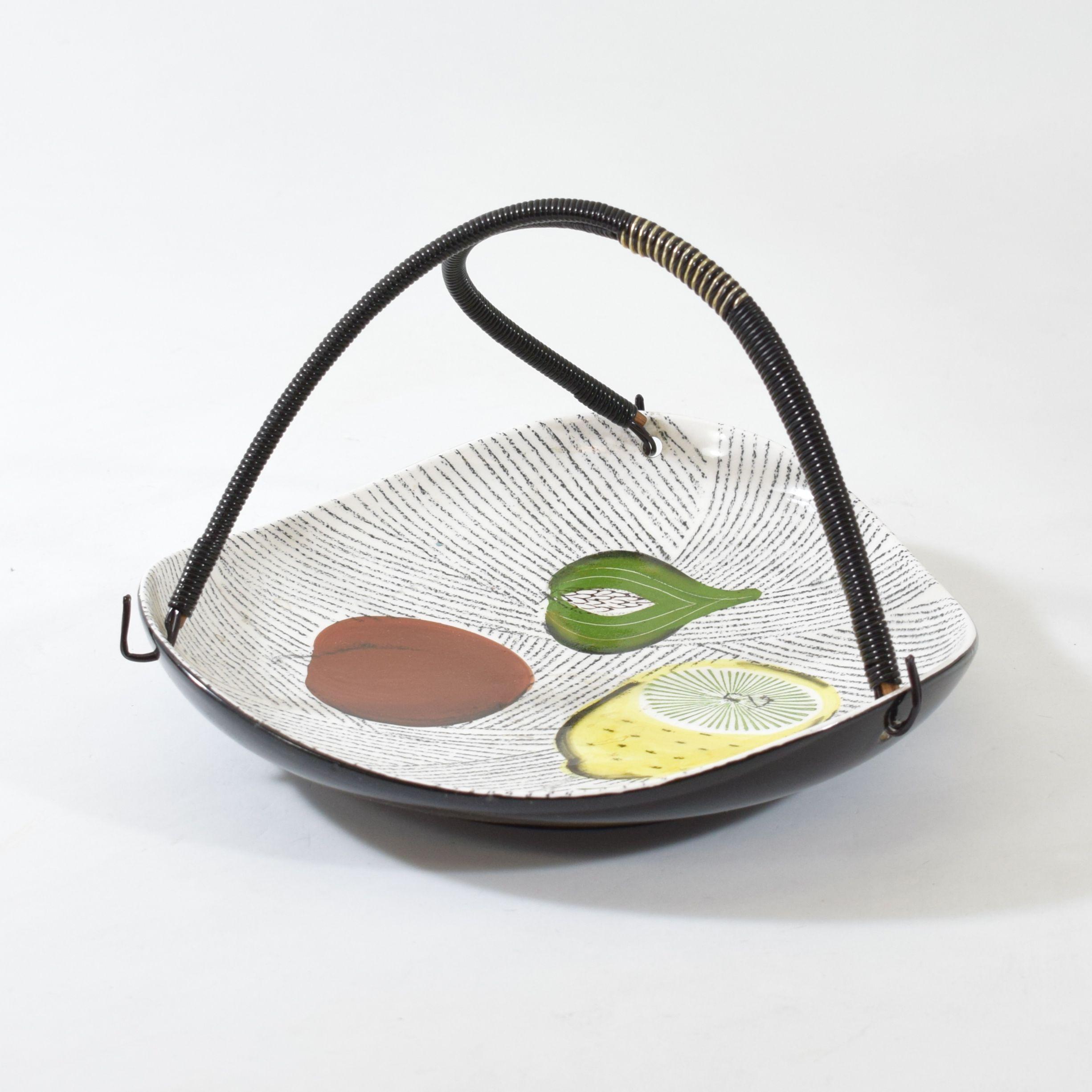 Vintage Ceramic Fruit Bowl 1950s Design Market