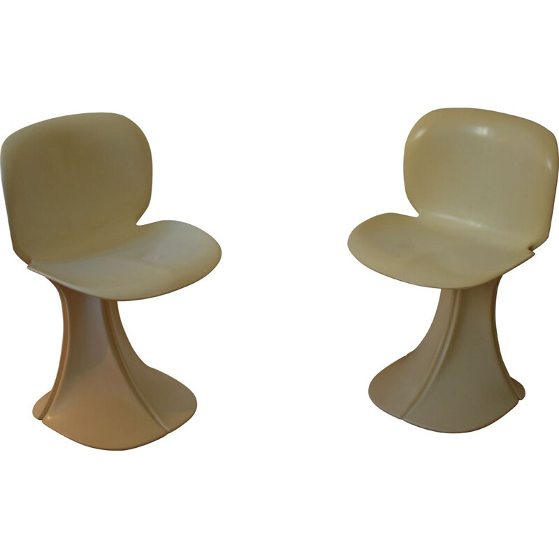 Pair of vintage chairs Fleur de Pierre Paulin for Boro 1973s