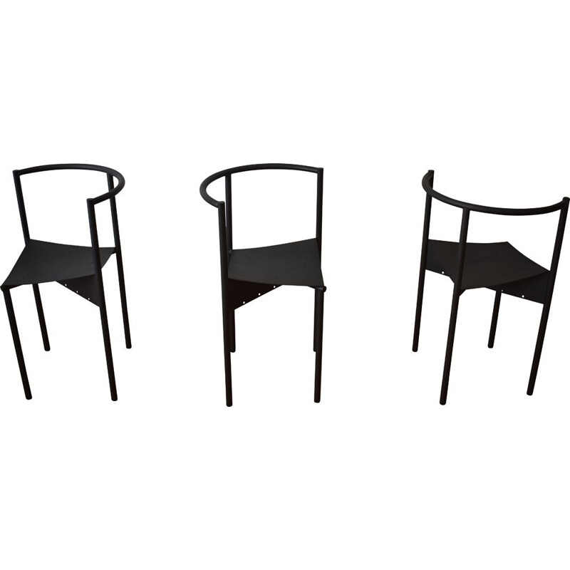 Lot of 3 vintage Wendy Wright chairs by Philippe Starck for Disform 1980
