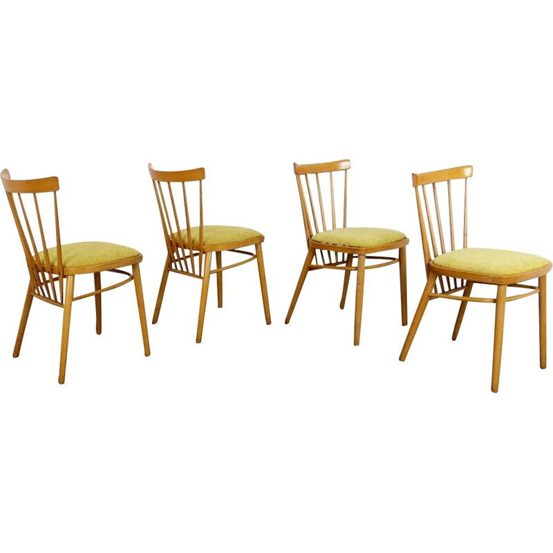Set of 4 vintage Dining Chair 1960s