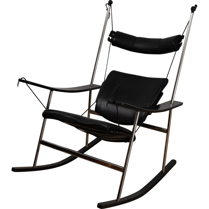 Vintage rocking chair by Peter Opsvik