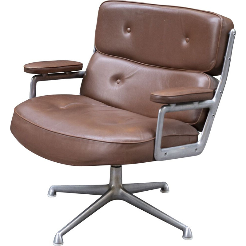 Vintage Charles & Ray Eames Lobby Armchair 1960s