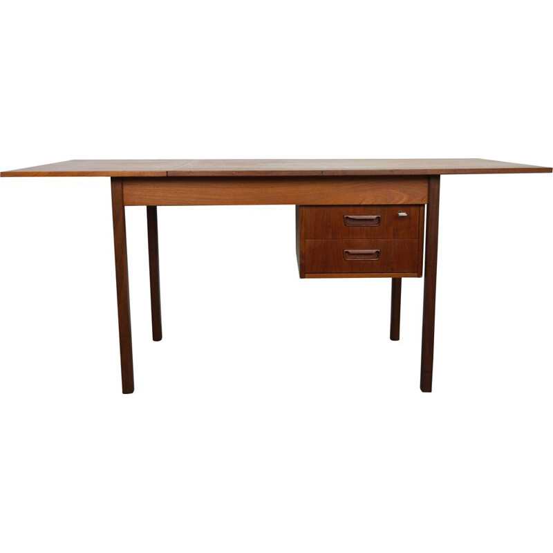 Vintage Adjustable Teak Desk by Arne Vodder Denmark 1950s