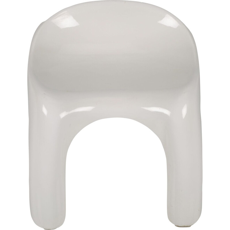 Vintage White Efebino Kids Chair by Stacy Dukes for Atremide