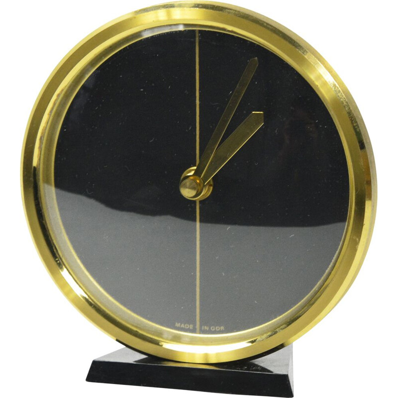 Vintage Fireplace Clock by Weimar, Germany 1970