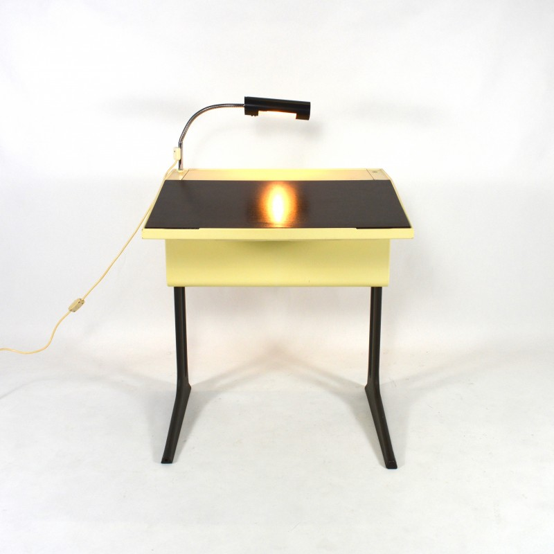 Flötotto Small Writing Desk With Leaf Luigi Colani 1970s Design Market