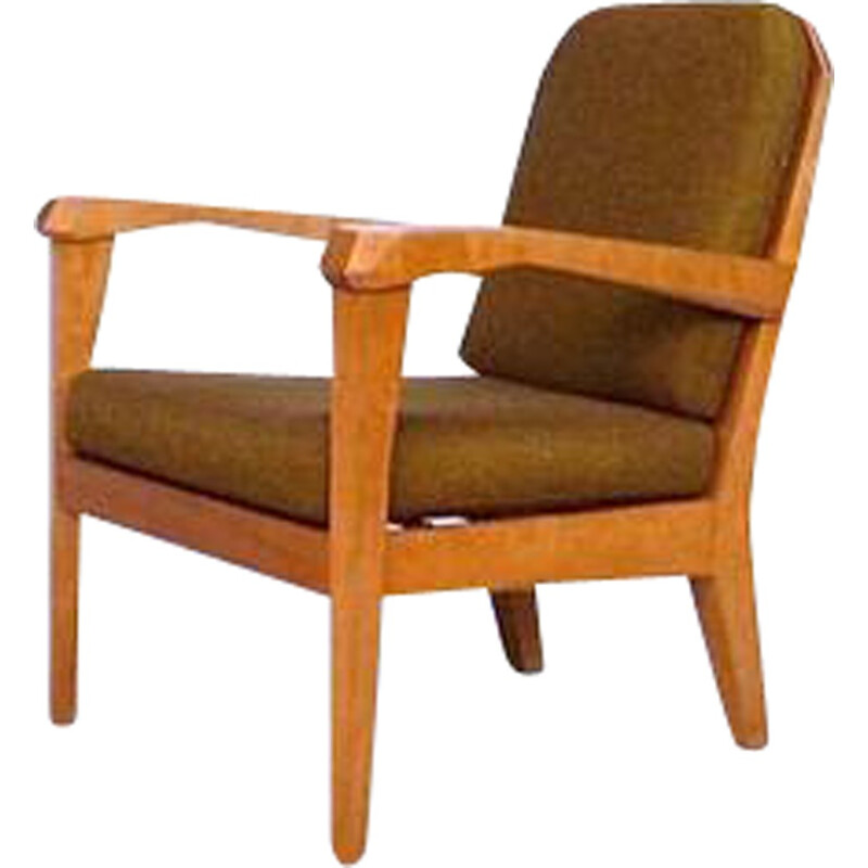 "Schiller Möbel ""Anthroposophical"" easy chair in wood, Felix KAYSER - 1930s"