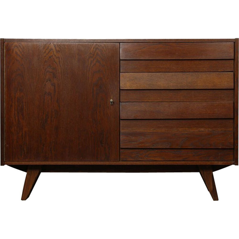 Vintage chest of drawers by Jiri Jiroutek Czech 1960s