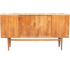 Sideboard in maple and Rio rosewood - 1960s
