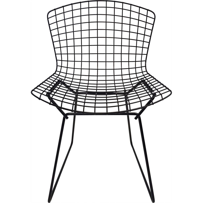 Vintage Wire Harry Bertoia Chair for Knoll 1970s