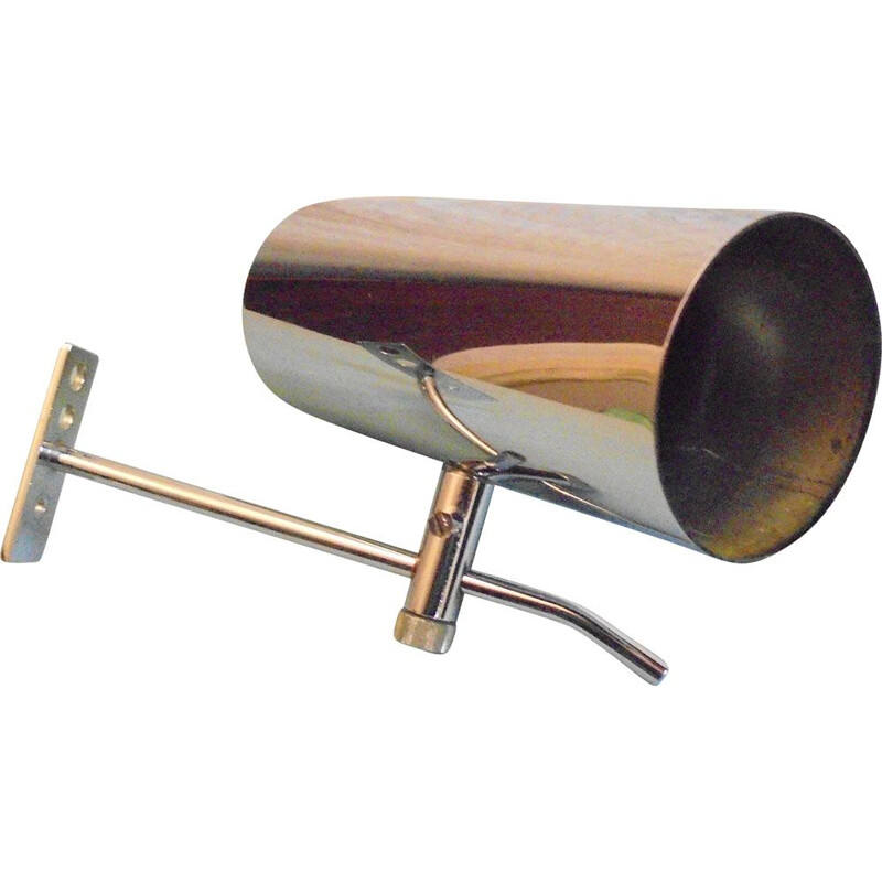 Vintage pipe wall lamp by Alain Richard 1980