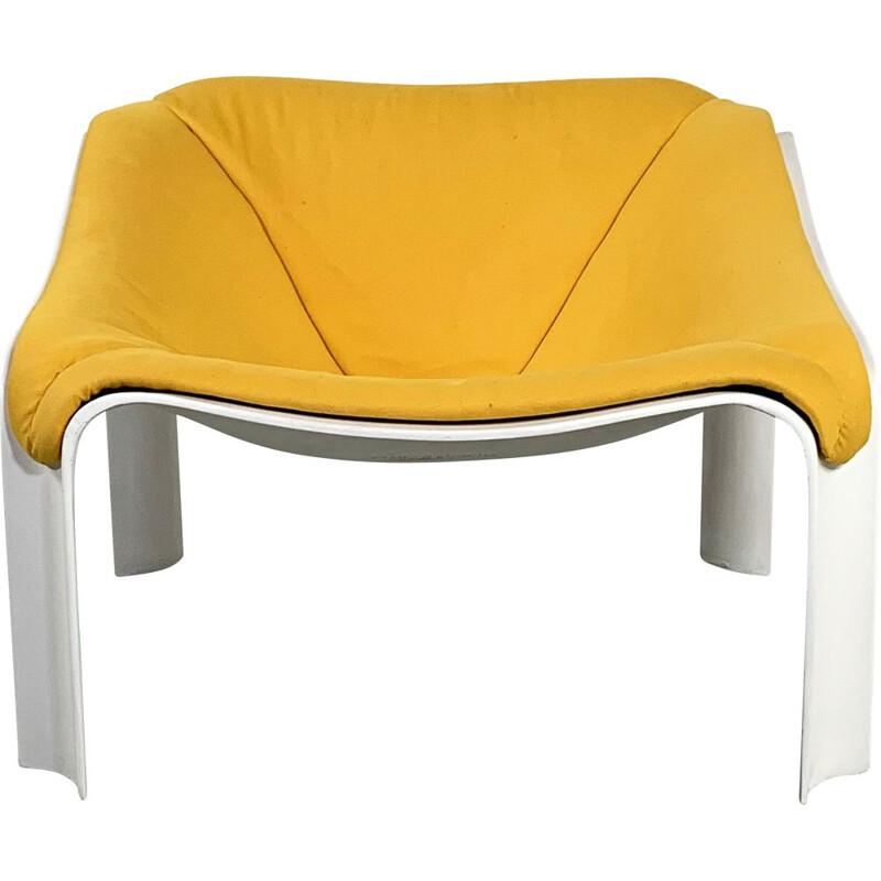Vintage Yellow Lounge Chair by Pierre Paulin for Artifort 1960s