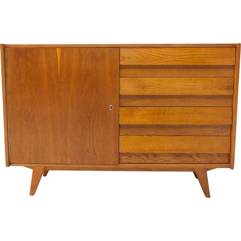 Mid-century chest of drawers by Jiri Jiroutek  Czechoslovakia 1960s