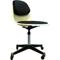 "Herman Miller ""PSCC-4"" office chair in fiberglass, Charles & Ray EAMES - 1960s"