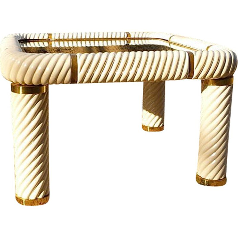 Italian coffee table in ceramic, Tommaso BARBI - 1960s