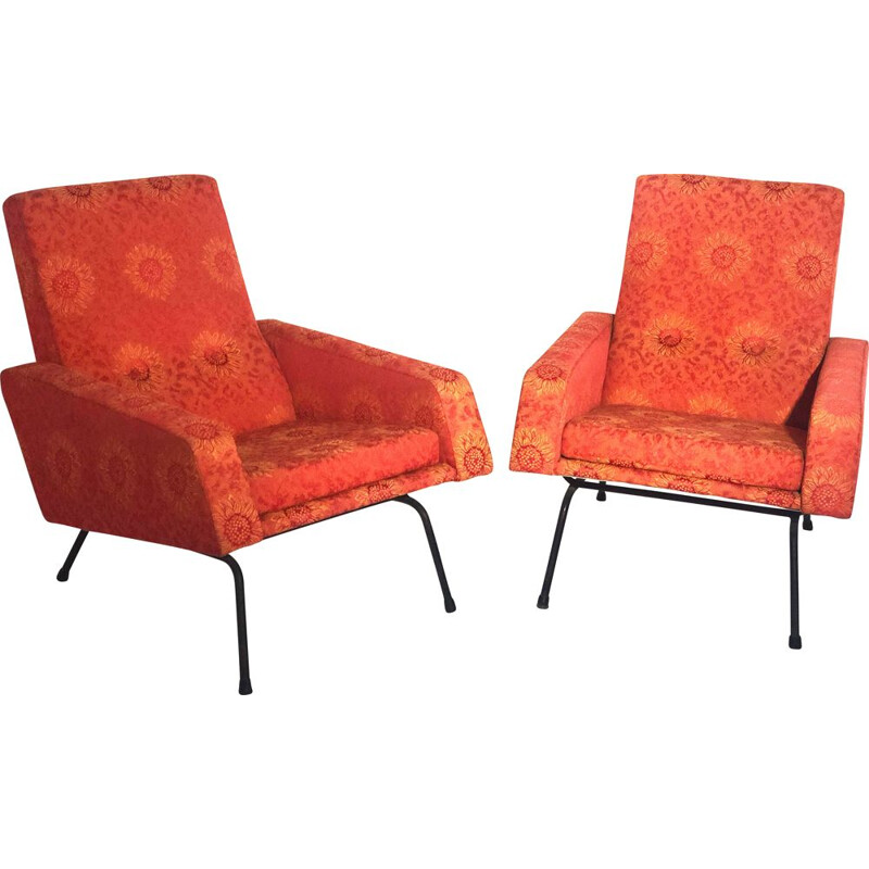 Pair of vintage Paolozzi armchairs