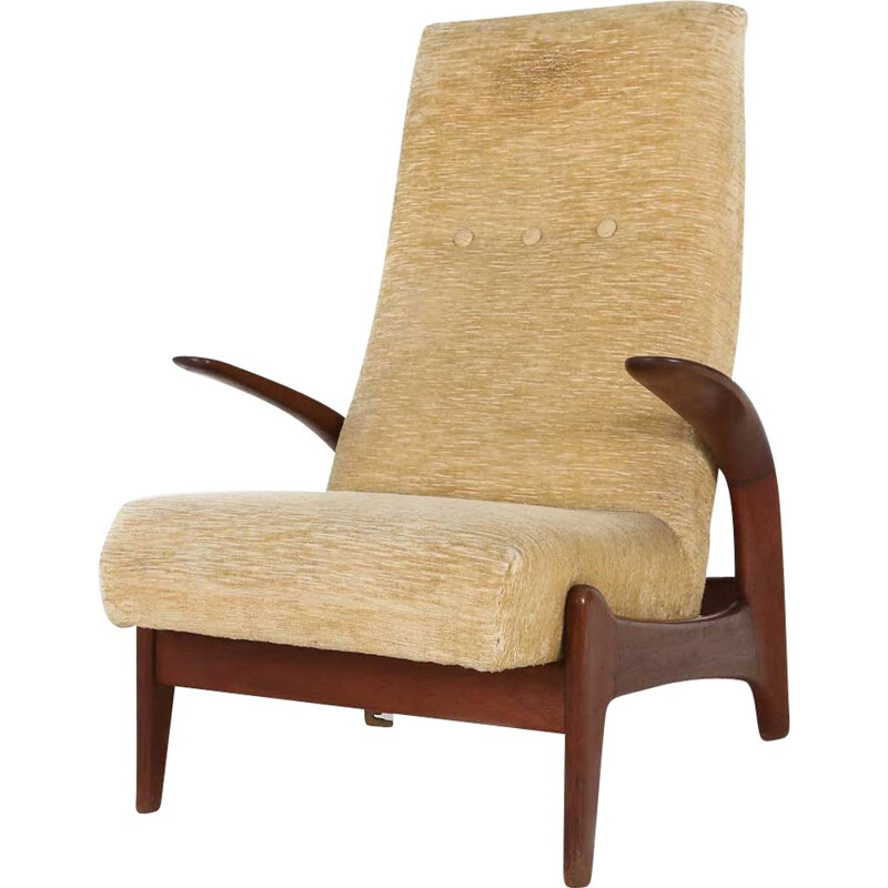 Vintage Rolf Rastad and Adolf Relling lounge chair 1960s