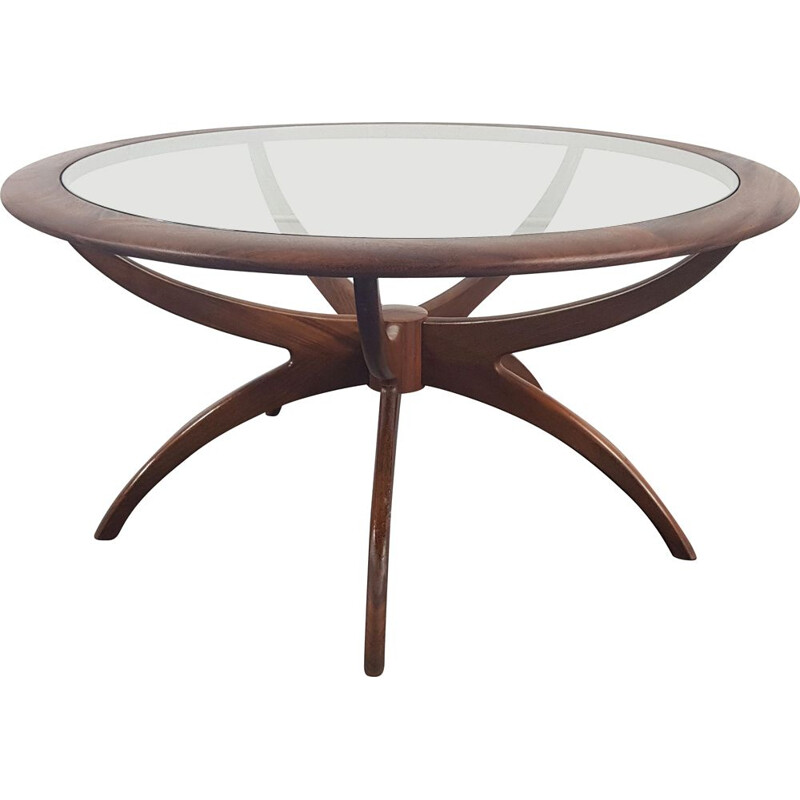 Vintage round coffee table G Plan 1960s