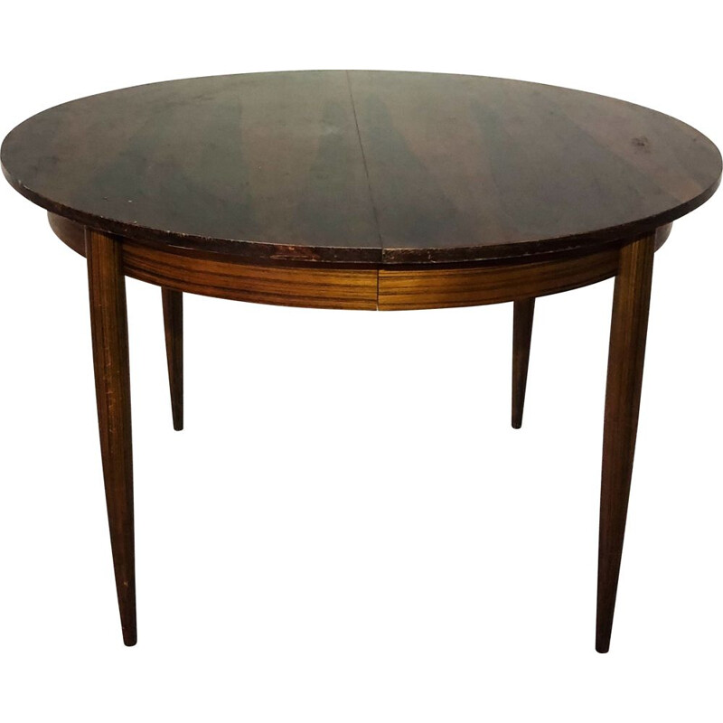 Vintage rosewood table Arne Vodder 1960s