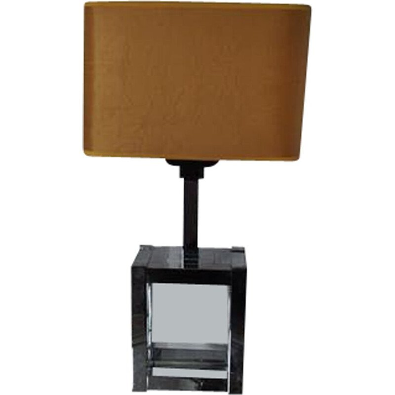 Vintage Willy Rizzo lamp for Lumica 1970s