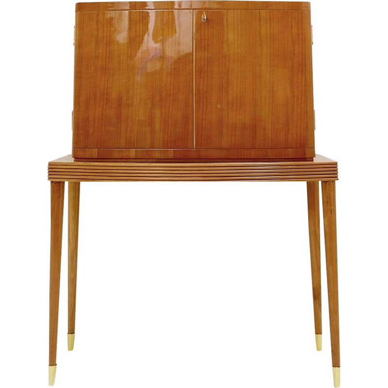 Vintage Bar Cabinet Italy 1950s