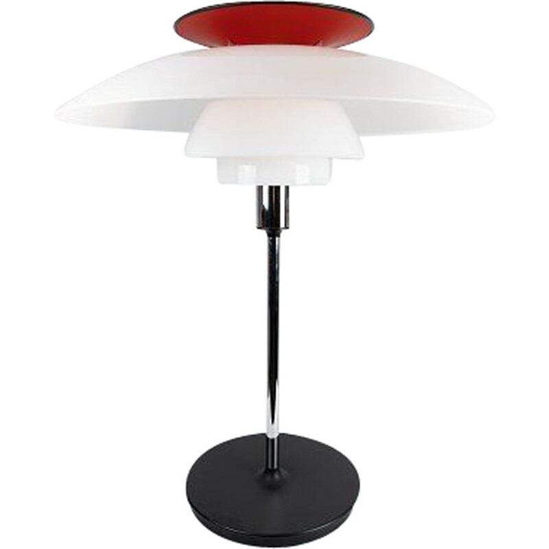 Vintage table lamp by Poul Henningsen and Louis Poulsen 1974s