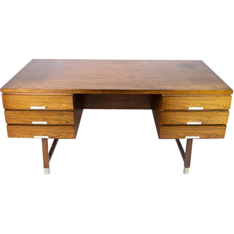 Vintage Desk in rosewood by Kai Kristiansen 1960s