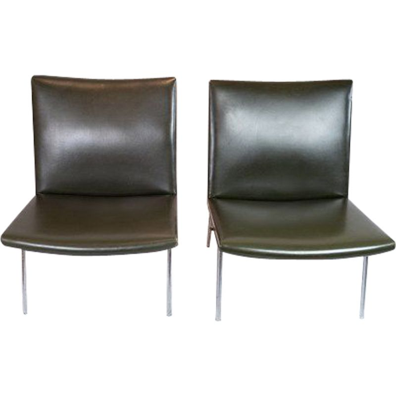 Pair of vintage chair by Hans J. Wegner 1950s