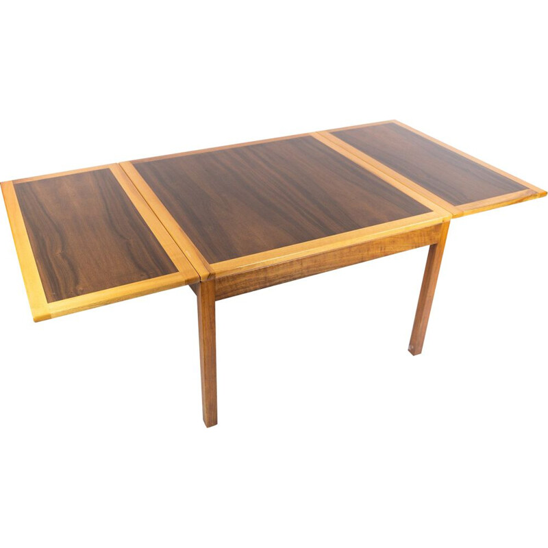 Vintage Coffee table of rosewood with extensions by Borge Mogensen 1960s